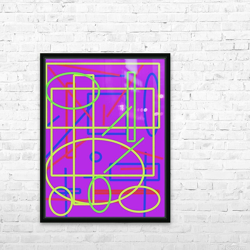 The matrix  HD Sublimation Metal print with Decorating Float Frame (BOX)