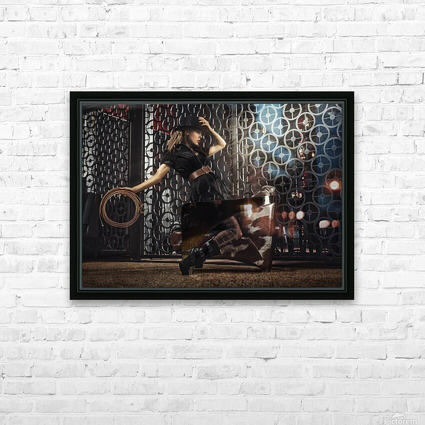 Ranch HD Sublimation Metal print with Decorating Float Frame (BOX)
