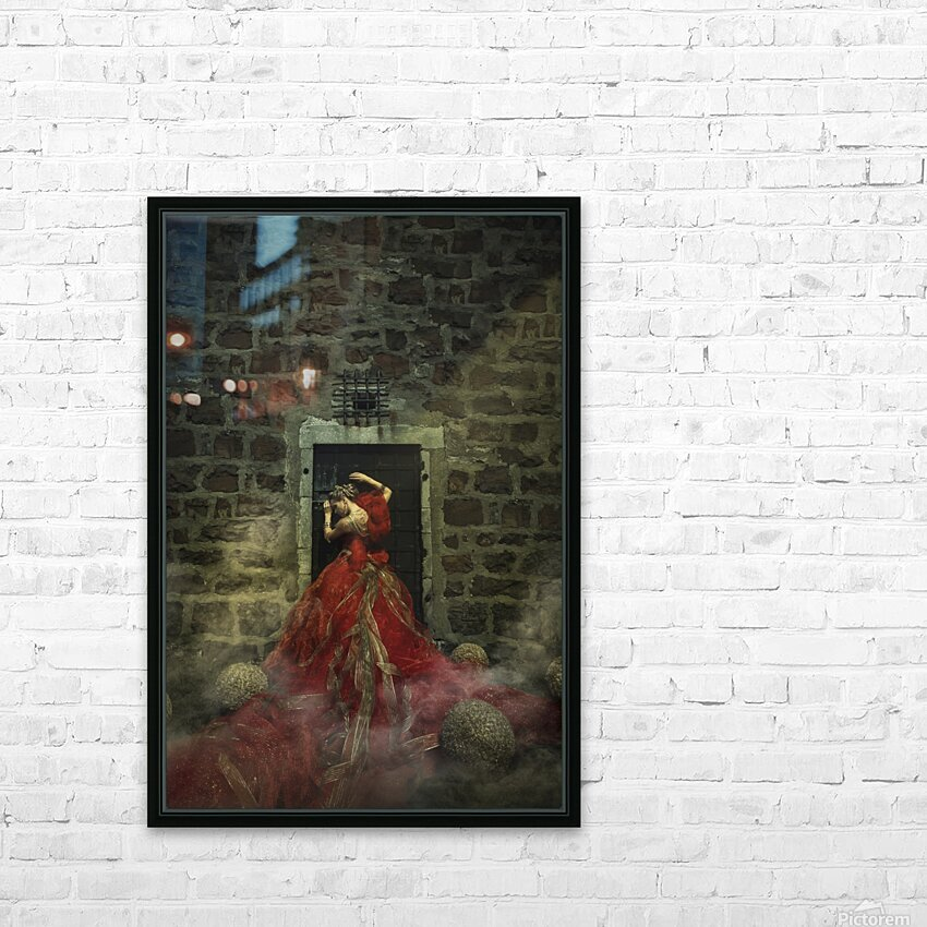 Dungeon I HD Sublimation Metal print with Decorating Float Frame (BOX)