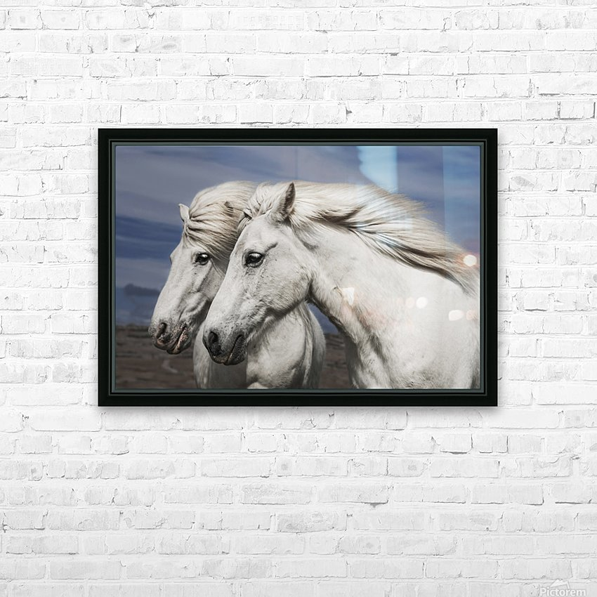 Blowing by Bragi Ingibergsson HD Sublimation Metal print with Decorating Float Frame (BOX)