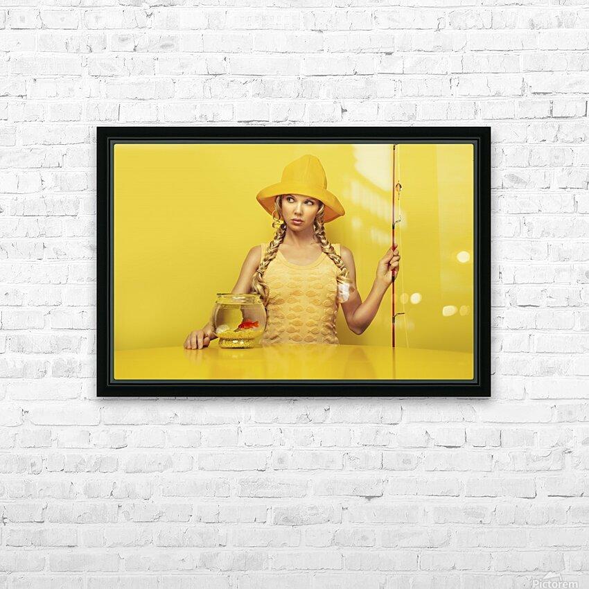 Highliner I HD Sublimation Metal print with Decorating Float Frame (BOX)