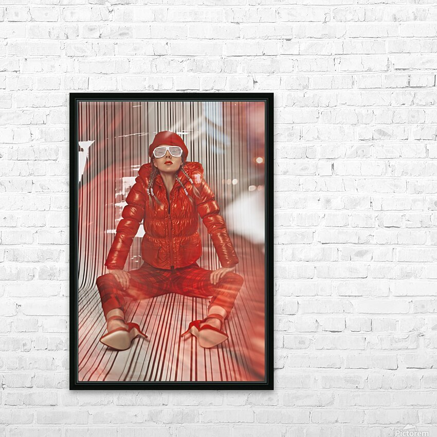 Funky Petroleum II HD Sublimation Metal print with Decorating Float Frame (BOX)