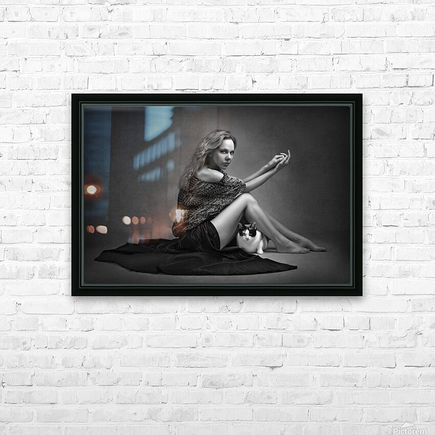 Portrait Series I HD Sublimation Metal print with Decorating Float Frame (BOX)