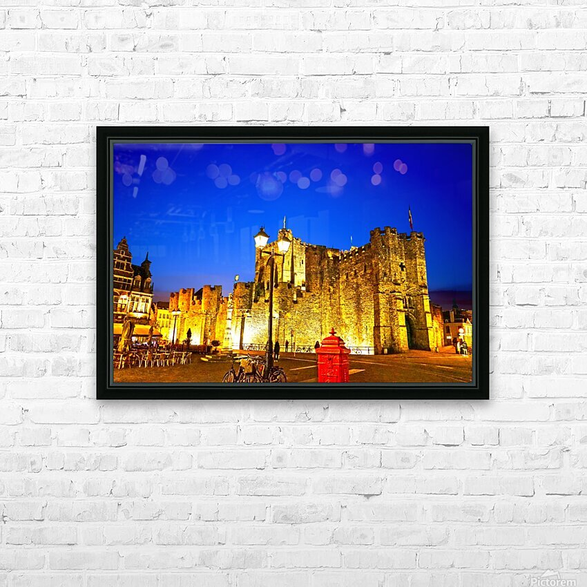 Passport to Belgium 5 of 5 HD Sublimation Metal print with Decorating Float Frame (BOX)