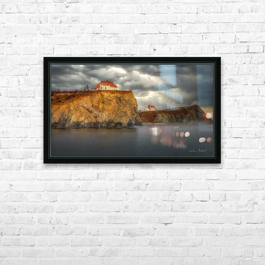Cap Canon Perce HD sublimation métal imprimé avec décoration flotteur cadre (boîte)