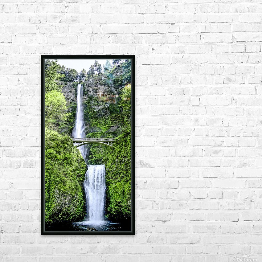 I Dreamed of Waterfalls HD Sublimation Metal print with Decorating Float Frame (BOX)