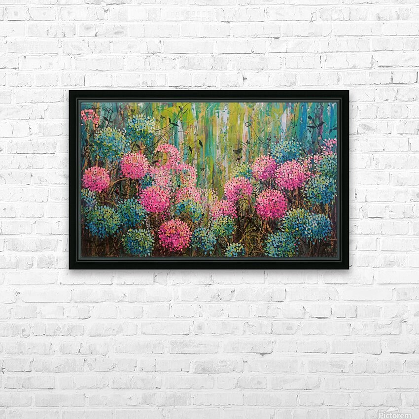 Simple Abundance HD Sublimation Metal print with Decorating Float Frame (BOX)