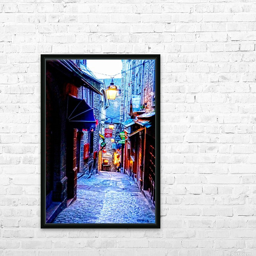 A Day at Mont Saint Michel 2 of 12 HD Sublimation Metal print with Decorating Float Frame (BOX)