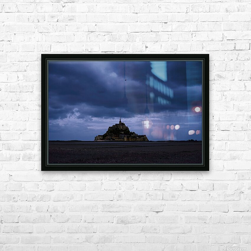 A Day at Mont Saint Michel 12 of 12 HD Sublimation Metal print with Decorating Float Frame (BOX)