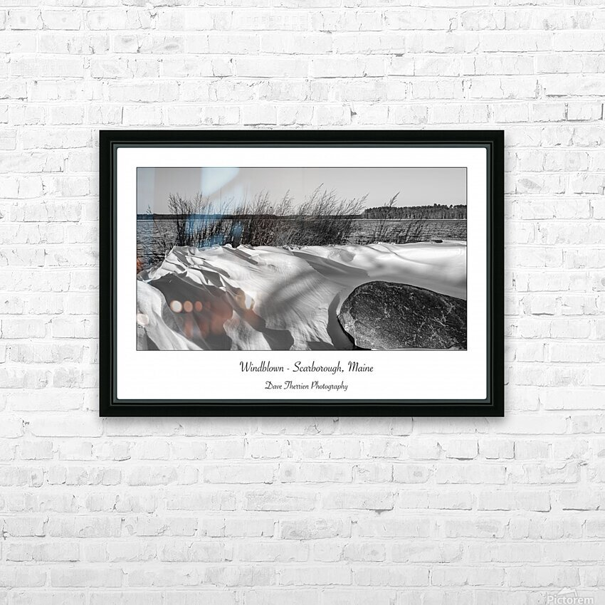 Windblown HD Sublimation Metal print with Decorating Float Frame (BOX)