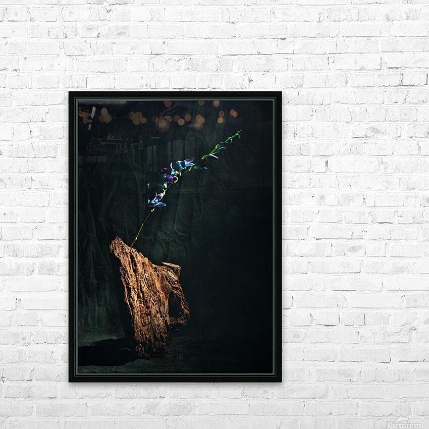 Le jour de lillumination HD Sublimation Metal print with Decorating Float Frame (BOX)
