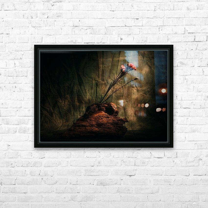 Montagne et Zen HD Sublimation Metal print with Decorating Float Frame (BOX)