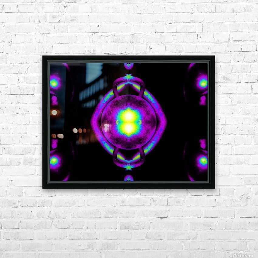 Portal  43  HD Sublimation Metal print with Decorating Float Frame (BOX)