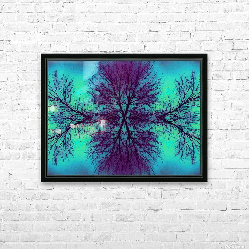Portal  4  HD Sublimation Metal print with Decorating Float Frame (BOX)