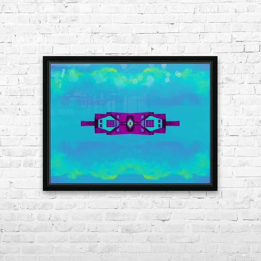 Portal  97  HD Sublimation Metal print with Decorating Float Frame (BOX)