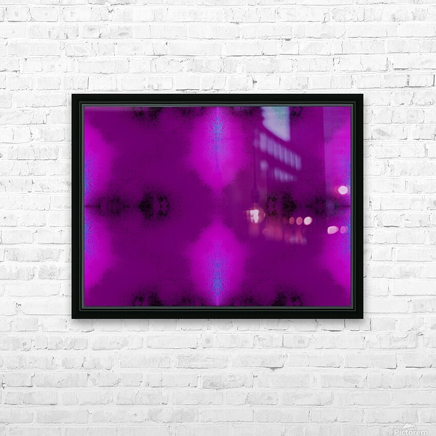Portal  56  HD Sublimation Metal print with Decorating Float Frame (BOX)