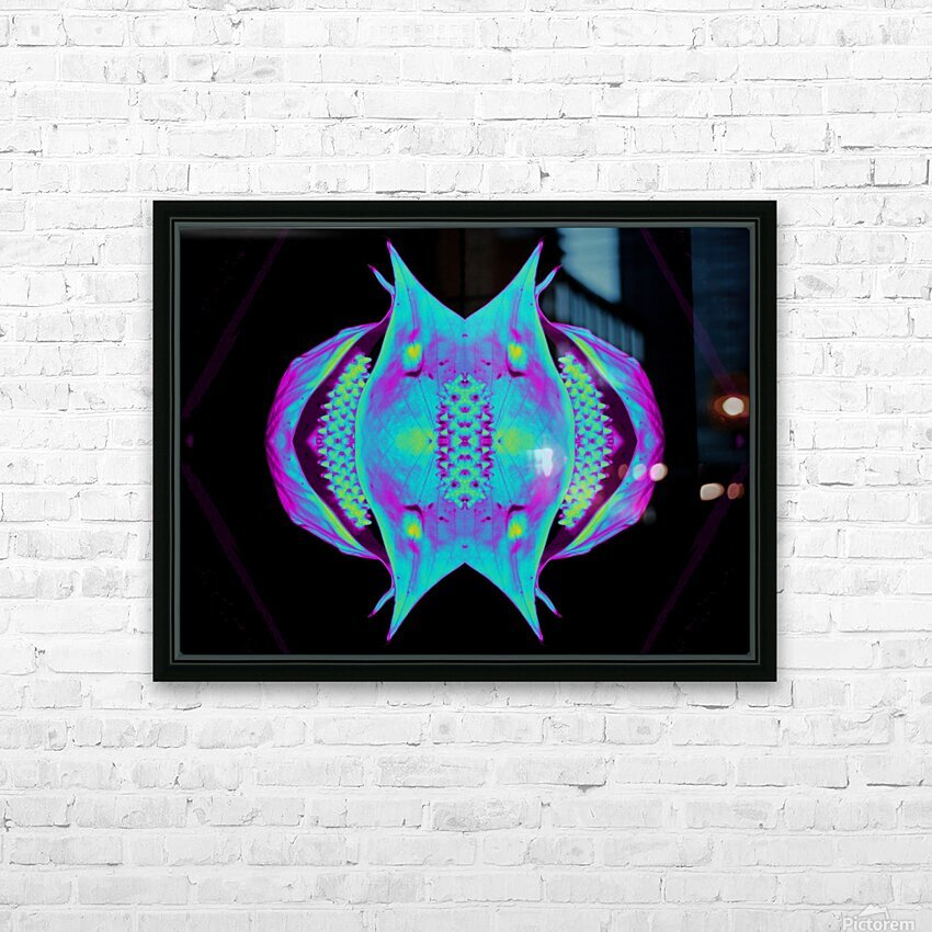 Portal  76  HD Sublimation Metal print with Decorating Float Frame (BOX)