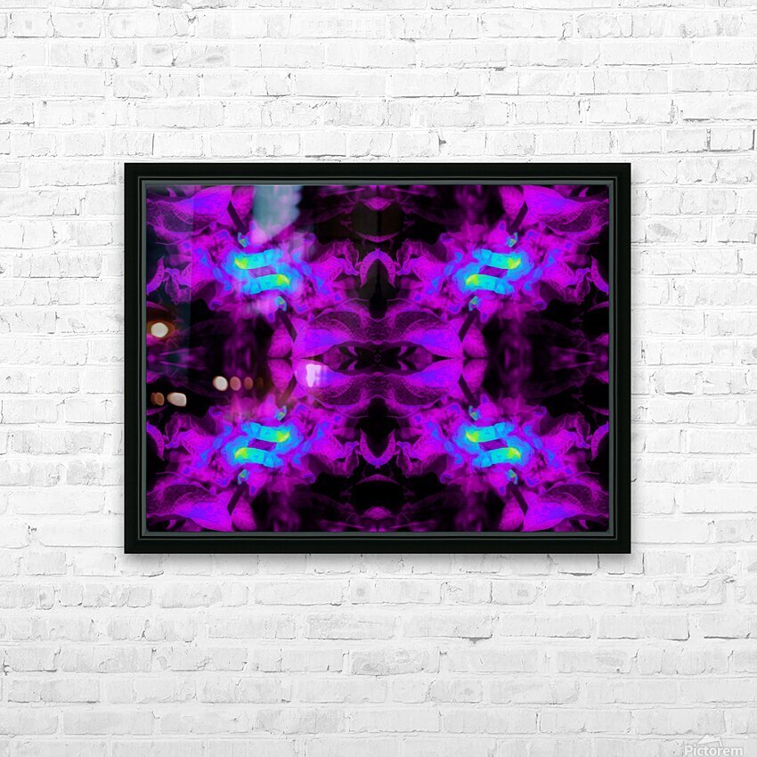 Portal  85  HD Sublimation Metal print with Decorating Float Frame (BOX)