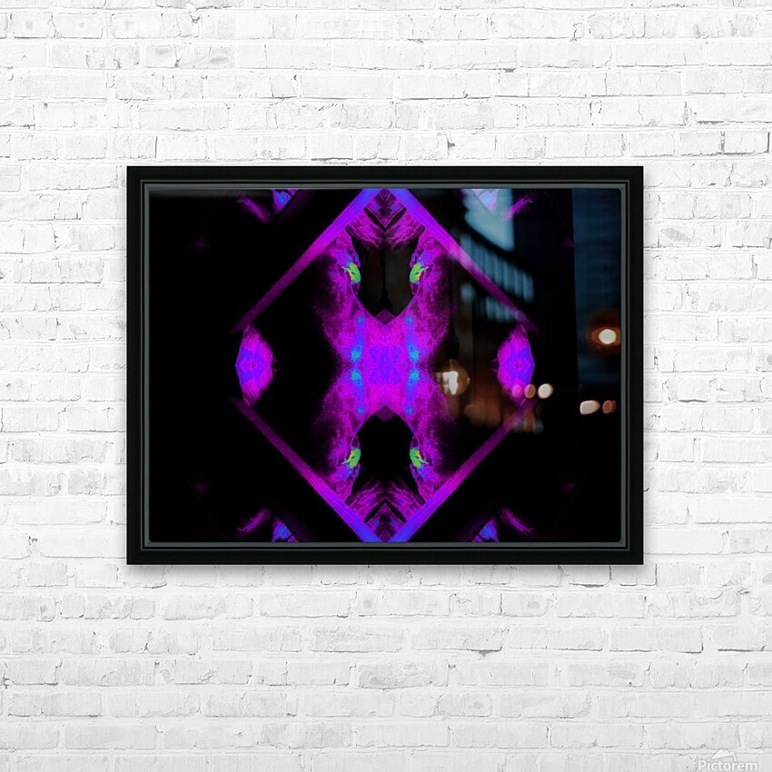 Portal  106  HD Sublimation Metal print with Decorating Float Frame (BOX)