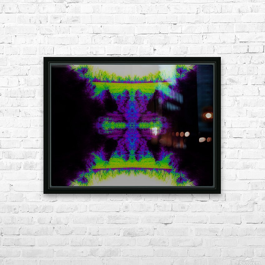 Portal  34  HD Sublimation Metal print with Decorating Float Frame (BOX)