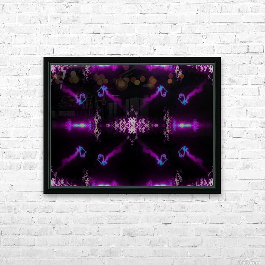 Portal  66  HD Sublimation Metal print with Decorating Float Frame (BOX)