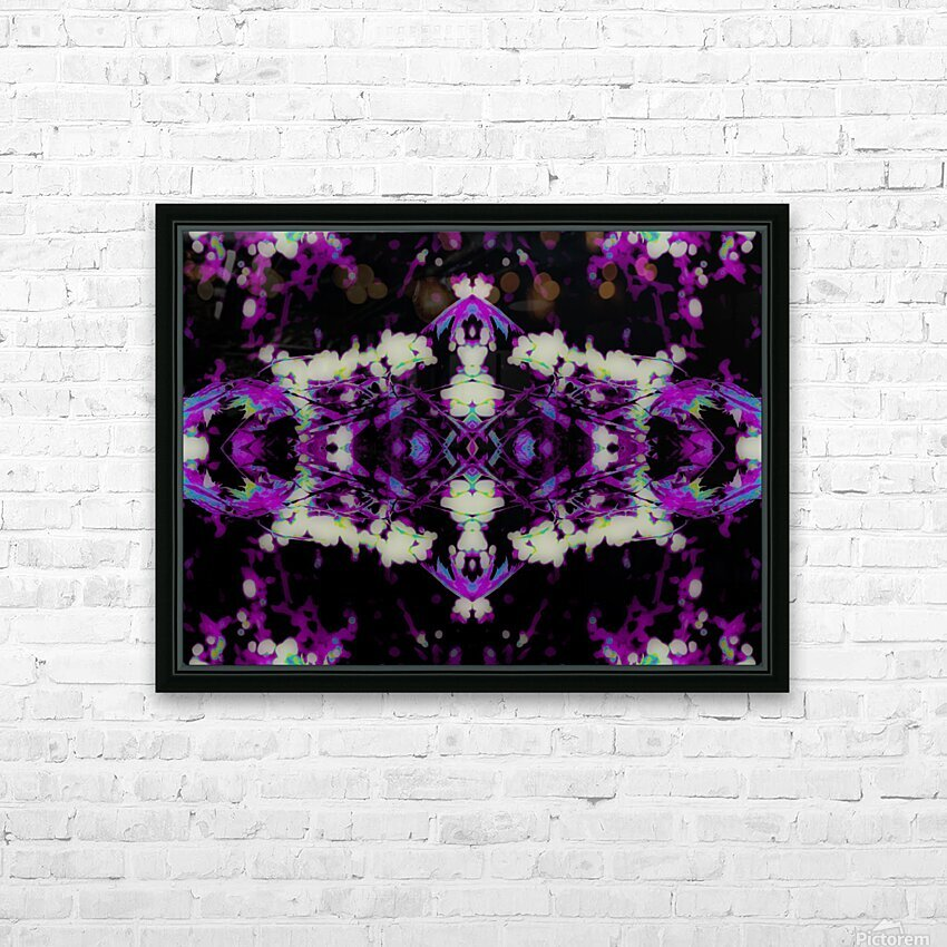 Portal  77  HD Sublimation Metal print with Decorating Float Frame (BOX)