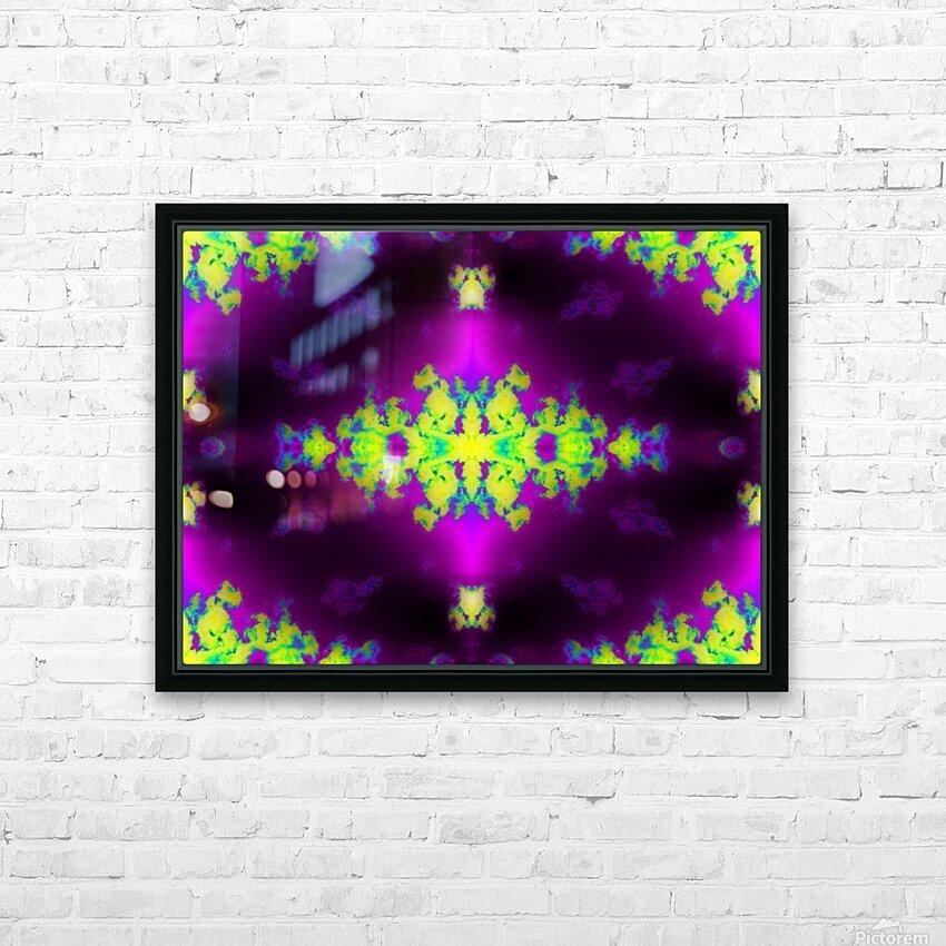 Portal  63  HD Sublimation Metal print with Decorating Float Frame (BOX)