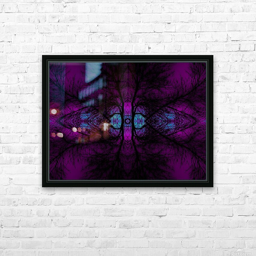 Portal  10  HD Sublimation Metal print with Decorating Float Frame (BOX)