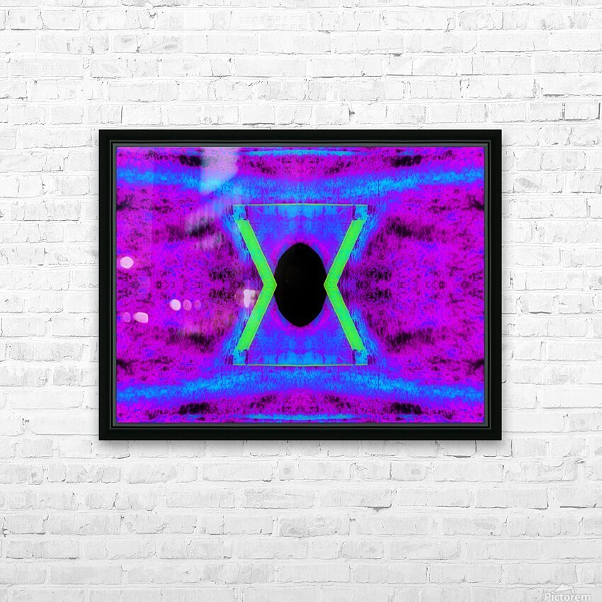 Portal  108  HD Sublimation Metal print with Decorating Float Frame (BOX)