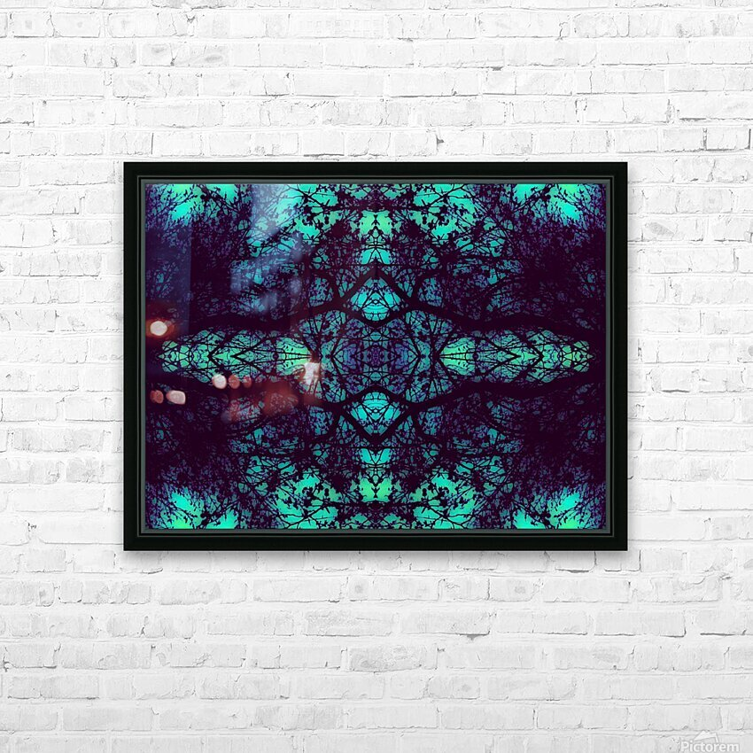 Portal  36  HD Sublimation Metal print with Decorating Float Frame (BOX)