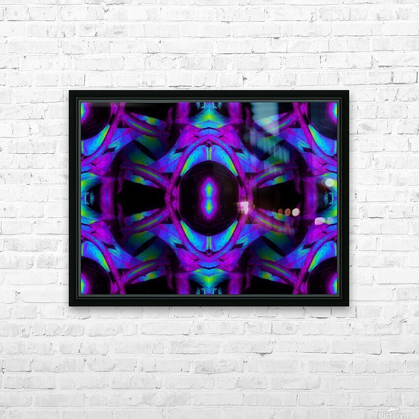 Portal  42  HD Sublimation Metal print with Decorating Float Frame (BOX)