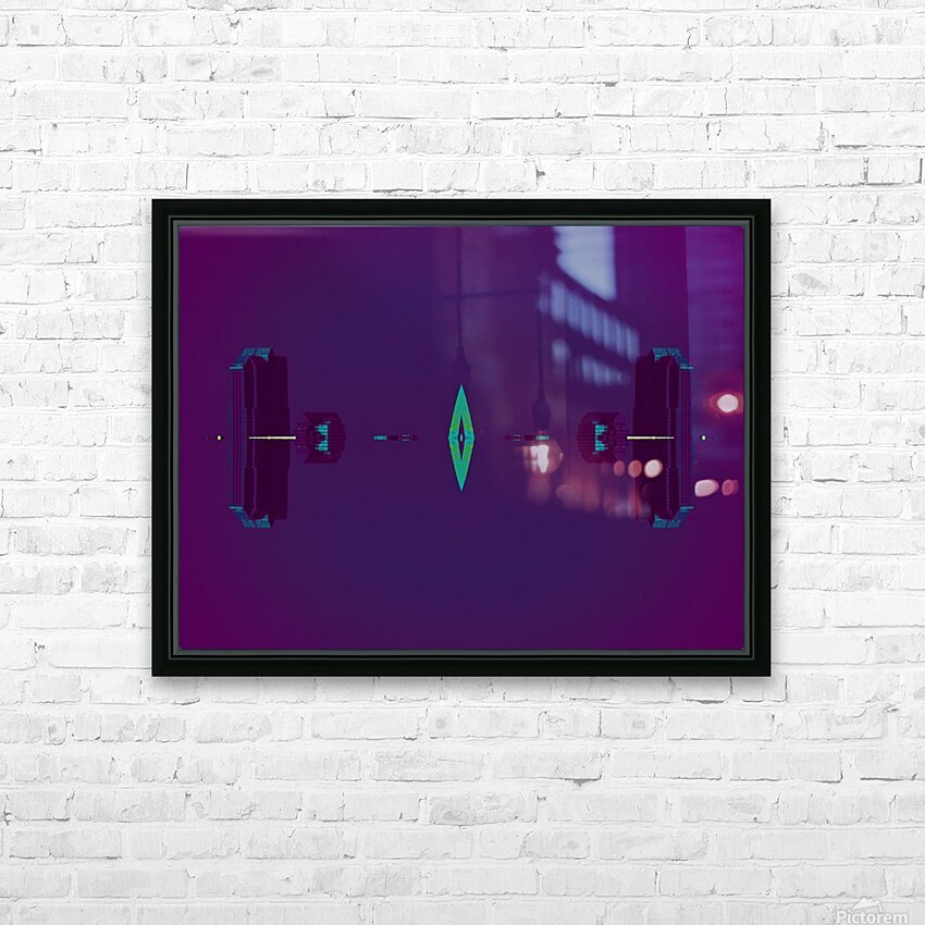 Portal  80  HD Sublimation Metal print with Decorating Float Frame (BOX)