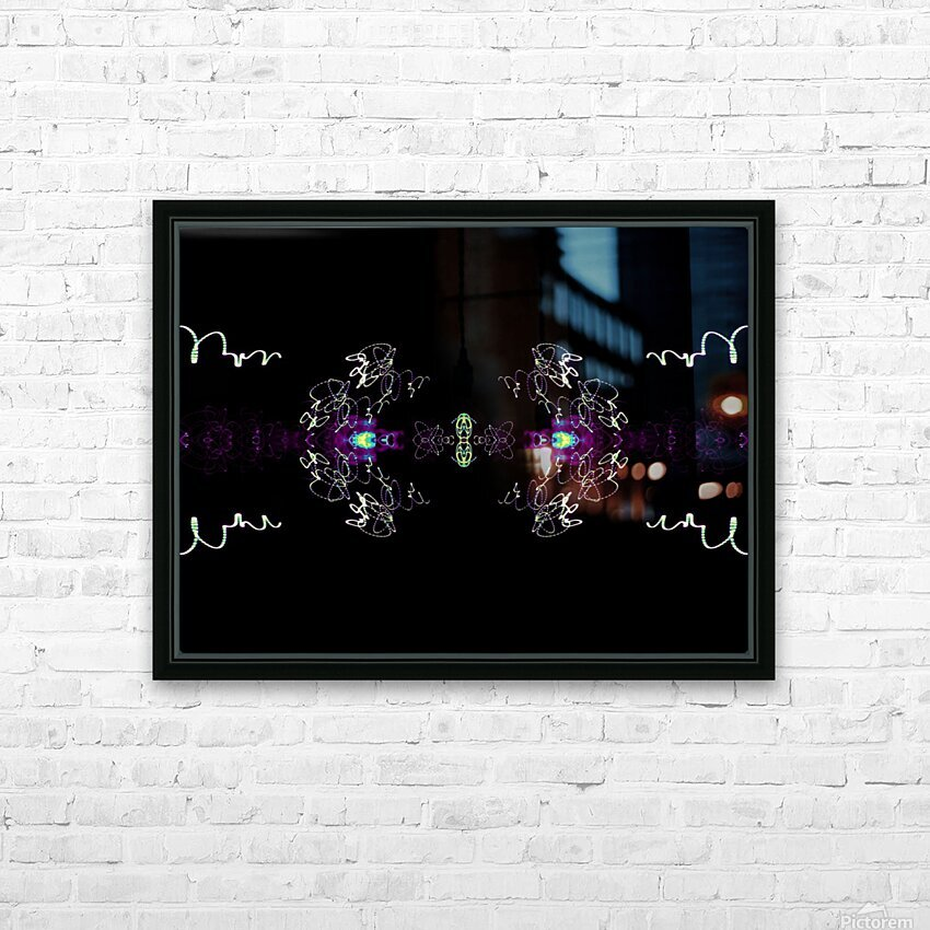 Portal  71  HD Sublimation Metal print with Decorating Float Frame (BOX)
