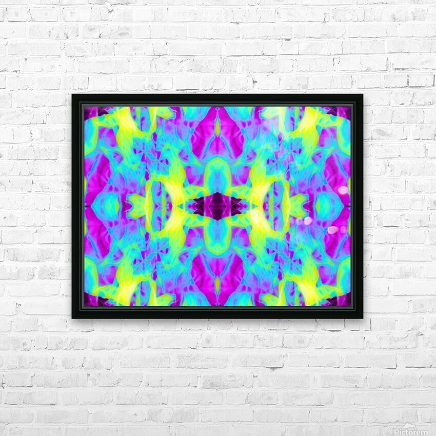 Portal  54  HD Sublimation Metal print with Decorating Float Frame (BOX)