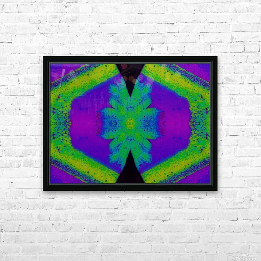 Portal  33  HD Sublimation Metal print with Decorating Float Frame (BOX)