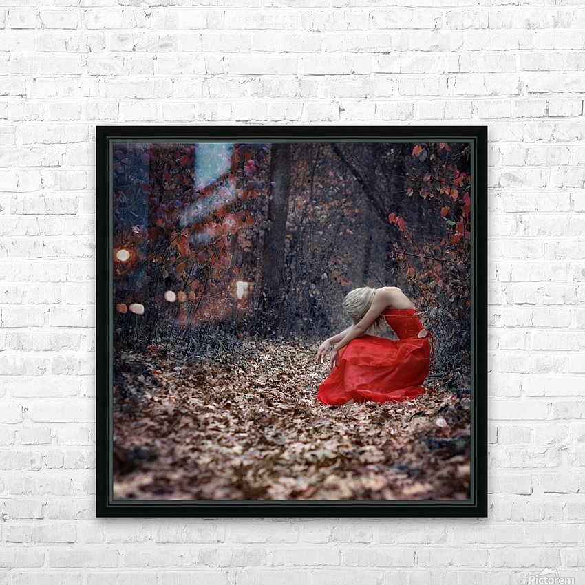 Nice Girls Dont Stay For Breakfast by Anastasiia Zapselskaya  HD Sublimation Metal print with Decorating Float Frame (BOX)
