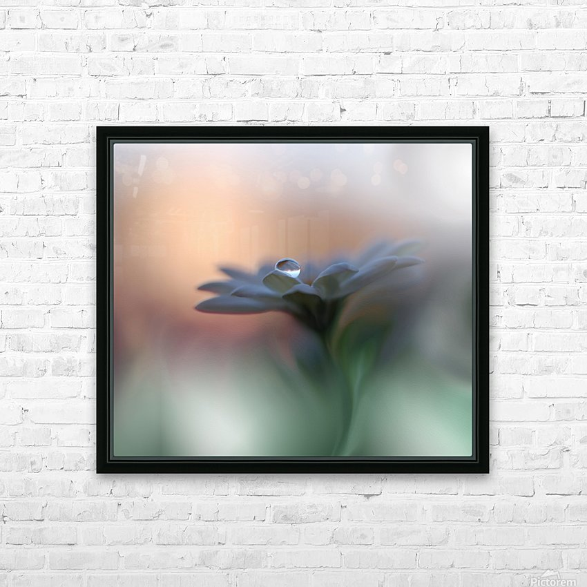 Eyes of the Light by Juliana Nan  HD Sublimation Metal print with Decorating Float Frame (BOX)