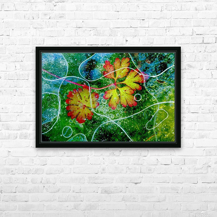 Thaw by Andres Miguel Dominguez HD Sublimation Metal print with Decorating Float Frame (BOX)