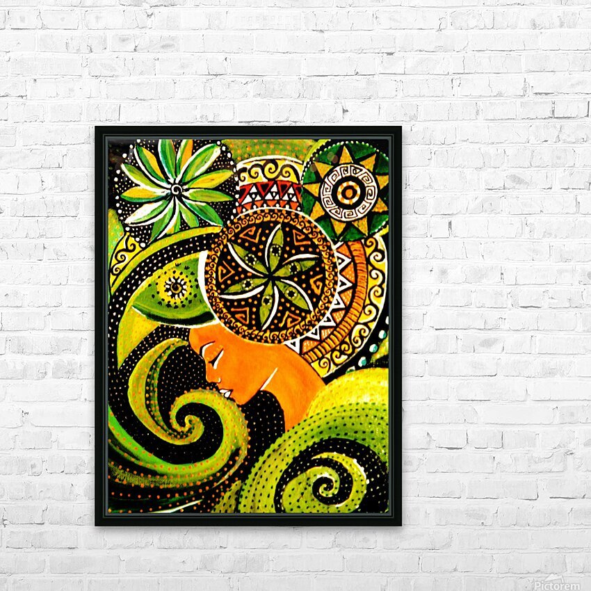 Pensee psyche   HD Sublimation Metal print with Decorating Float Frame (BOX)