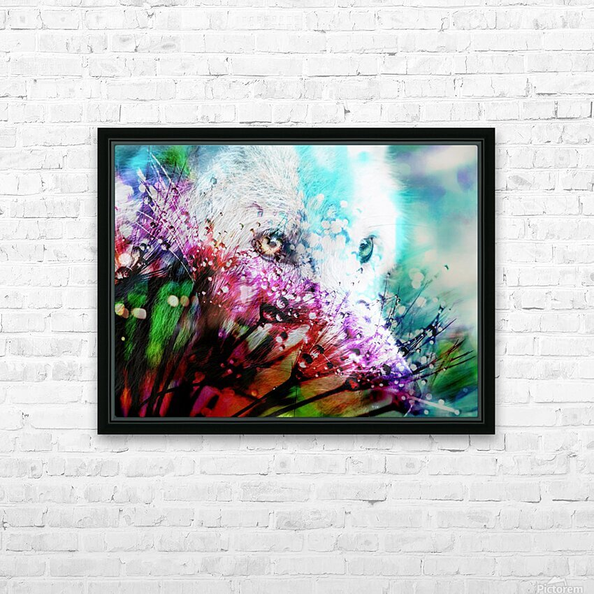 Metamorphose HD Sublimation Metal print with Decorating Float Frame (BOX)