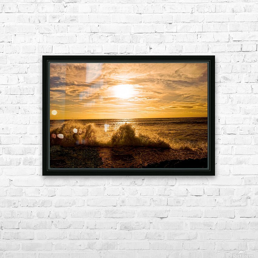 Whoosh  HD Sublimation Metal print with Decorating Float Frame (BOX)
