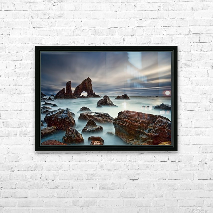 Sea Arch at Crohy Head by Derek Smyth  HD Sublimation Metal print with Decorating Float Frame (BOX)