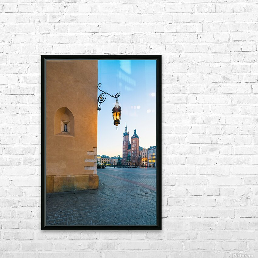 KRAKOW 02 HD Sublimation Metal print with Decorating Float Frame (BOX)