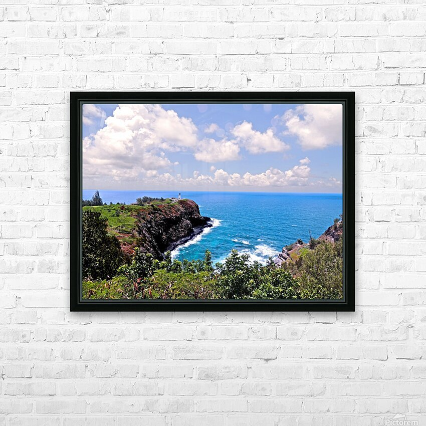 Untamed Kauai 4 of 5 HD Sublimation Metal print with Decorating Float Frame (BOX)