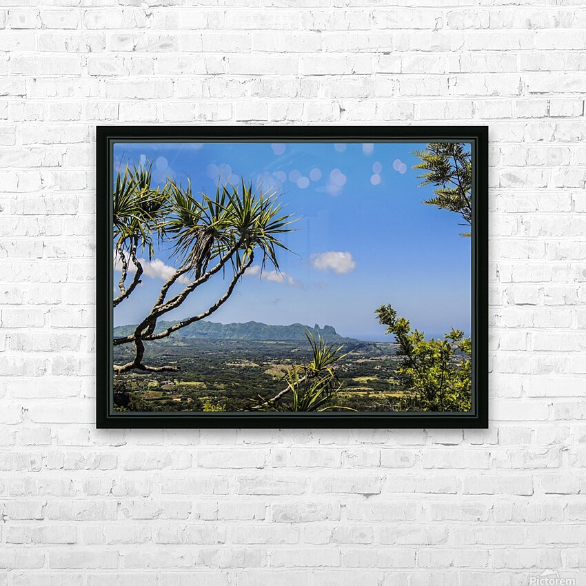 View to Forever HD Sublimation Metal print with Decorating Float Frame (BOX)