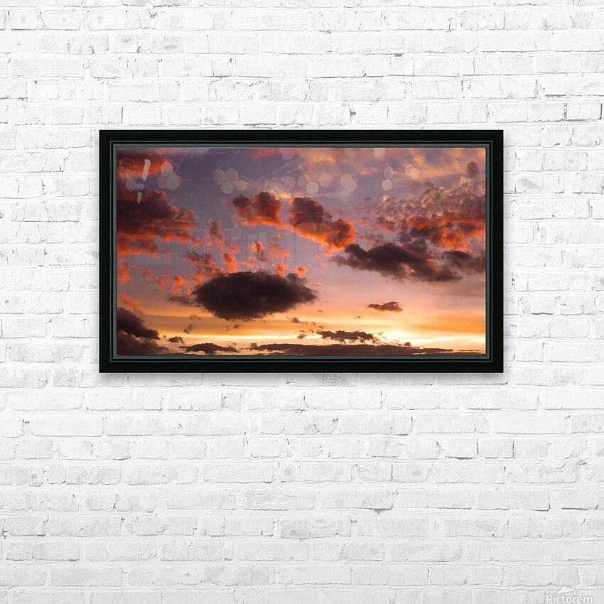 Color Study 2 HD Sublimation Metal print with Decorating Float Frame (BOX)