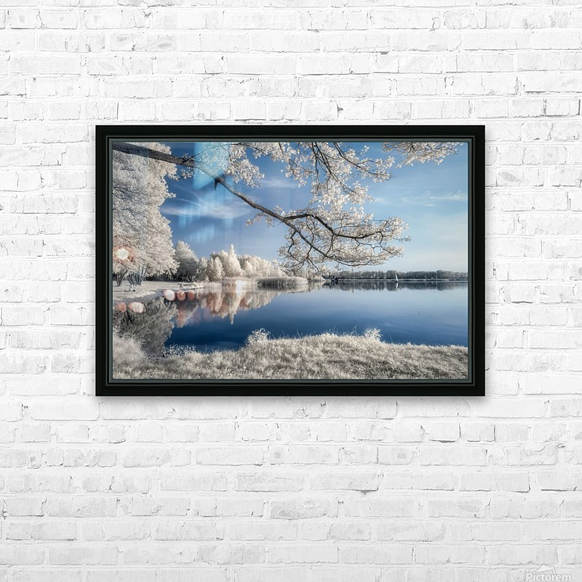 IRenkowo HD Sublimation Metal print with Decorating Float Frame (BOX)