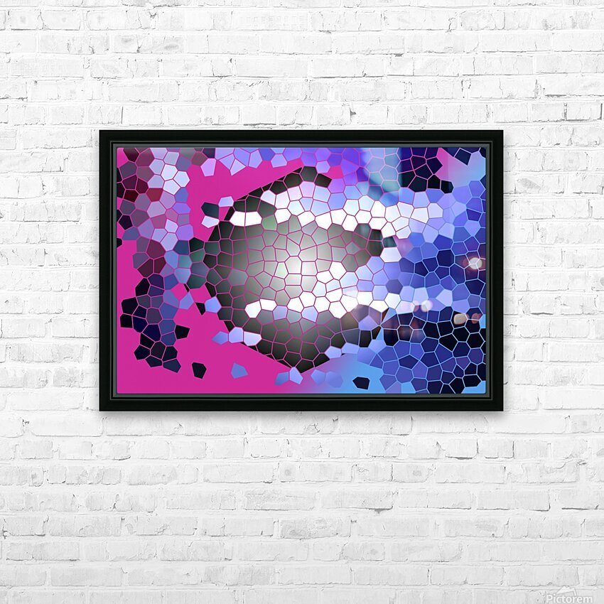 DARK SIDE HD Sublimation Metal print with Decorating Float Frame (BOX)