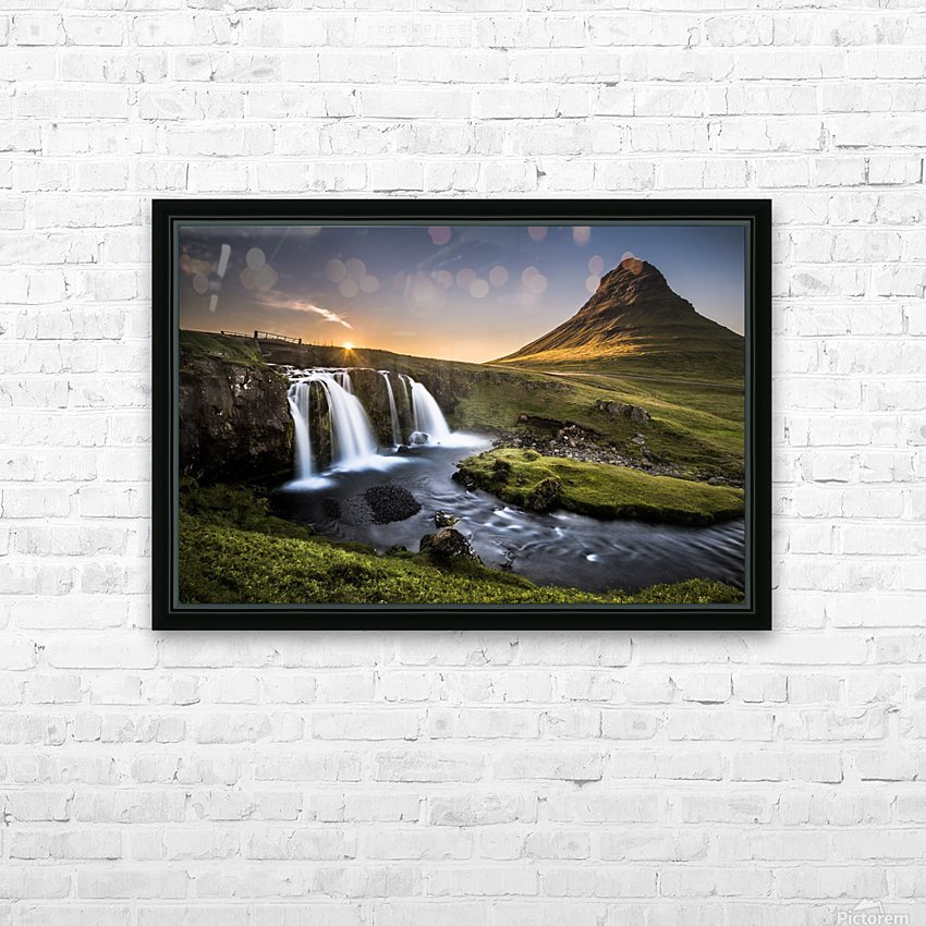 Fairy-Tale Country HD Sublimation Metal print with Decorating Float Frame (BOX)