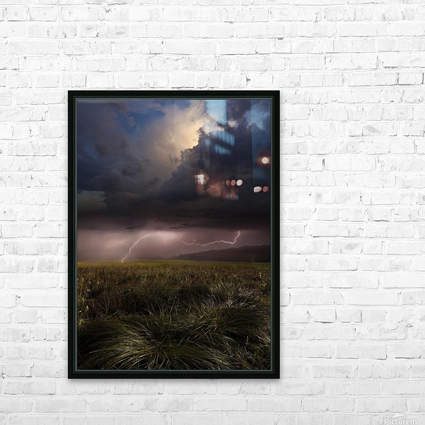 Summer Lights by Franz Schumacher  HD Sublimation Metal print with Decorating Float Frame (BOX)